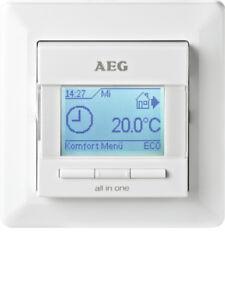 aeg frtd 903 regler fu bodenheizung temperaturregler ebay. Black Bedroom Furniture Sets. Home Design Ideas