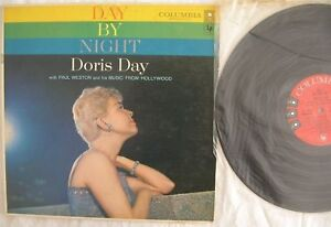 Day By Night Doris Day LP CL1053 VG+ MONO