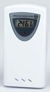 bresser thermo hygro sensor 433 mhz funksender ebay. Black Bedroom Furniture Sets. Home Design Ideas