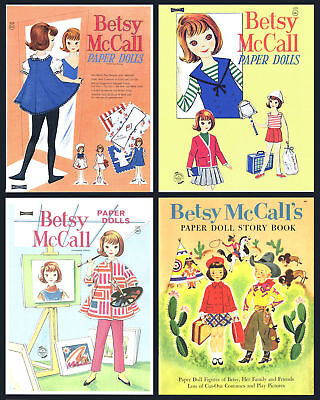 Cd2 - Betsy Mccall Paper Doll Collection On Cd (4 Books In Collection)