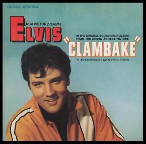 ELVIS-PRESLEY-CLAMBAKE-D-Rem-60s-SOUNDTRACK-CD-NEW