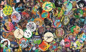 POG - POGS lot de + de 100 Pogs NEUFS Tous DIFFERENTS