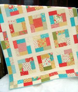 QUILT-PATTERN-Charm-Squares-or-Fat-Quarters-easy-quick