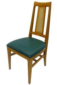 Set-of-6-Vintage-1950-039-s-Danish-Modern-Dining-Chairs-Mid-Century-Eames-Era-RETRO