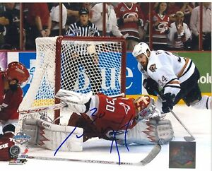 CAM-WARD-CARROLINA-HURRICANES-SIGNED-PHOTO-w-COA