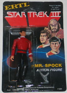 Star-Trek-III-Movie-Mr-Spock-ERTL-4-Action-Figure-MOC