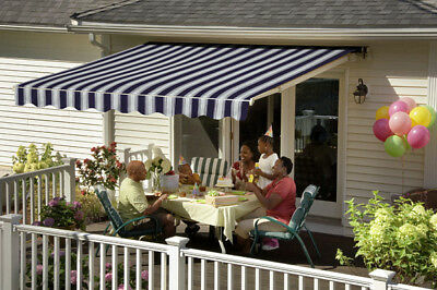 14' SunSetter Motorized Retractable Awning in Acrylic ...