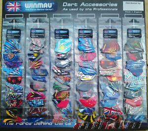 Winmau-Dart-Flights-30-sets-90-Assorted