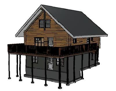 26 x 34 log cabin package wholesale ebay for 24x30 cabin