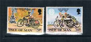 Isle of Man 1973 Golden Jubilee SG 39/40 MNH