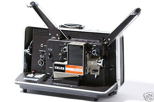 TELEX 16mm Sound Projector UNUSED MIB NOS! Military Surplus!