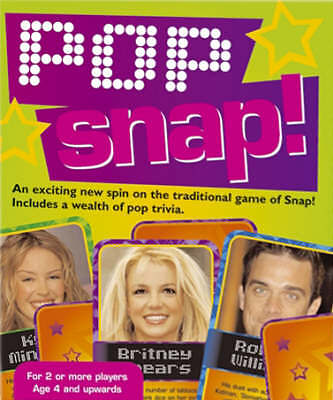 ***NEW*** POP SNAP. (CARD GAME)