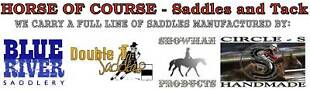 HORSE OF COURSE Saddles and Tack