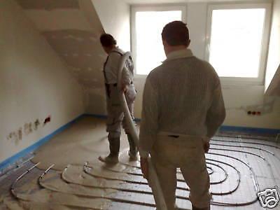 Wärmepumpentechnik Fußbodenheizung