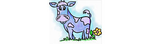 The Purple Cow Vintage Patterns