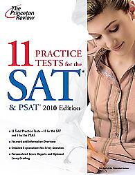 11-Practice-Tests-for-the-SAT-PSAT-2010-2009-Paperback-Original-Paperback-2009