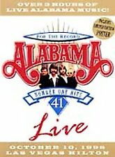 Alabama: For the Record - 41 Number One Hits Live (DVD, 1999)