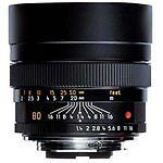 Leica  Summulux-R Summilux-R 80mm f/1.4 80 mm   F/1.4  Lens For Leica