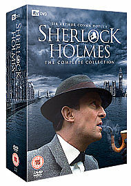 New-Sealed-Sherlock-Holmes-The-Complete-Collection-DVD-16-Discs-RRP-37