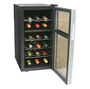 Koldfront Twr181e 14 Wide 18 Bottle Wine Cooler With Dual Thermoelectric