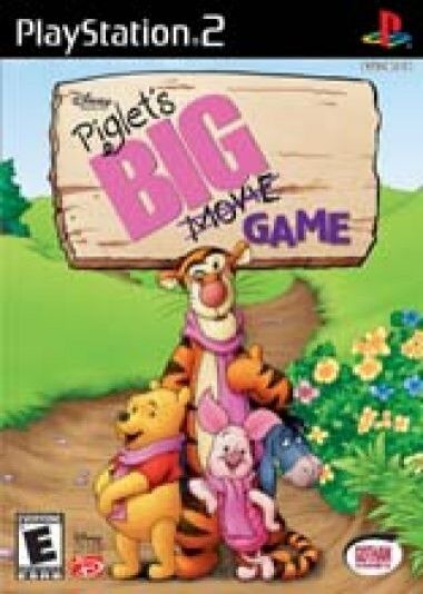 Piglet's Big Game (Sony PlayStation 2, 2003) - North American Version