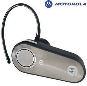 motorola h385 silver ear hook universal bluetooth headset 723755666450 ebay. Black Bedroom Furniture Sets. Home Design Ideas