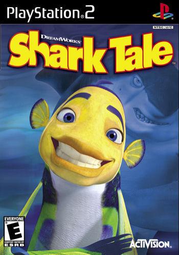 Shark Tale (Sony PlayStation 2, 2004) - US Version J