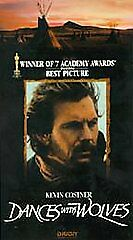 Dances-with-Wolves-VHS-1993-Kevin-Costner-Mary-McDonnelly
