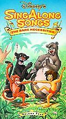 a2343968c Disneys Sing Along Songs - The Jungle Book  The Bare Necessities (VHS