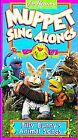 Muppet Sing-Alongs - Billy Bunny's Animal Songs (VHS, 1993)