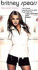 2000 BRITNEY SPEARS: Live and More! In Hawaii (VHS 80 mins)