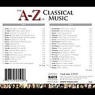 A to Z of Classical Music (CD, Oct-2000, 2 Discs, Naxos (Distributor))
