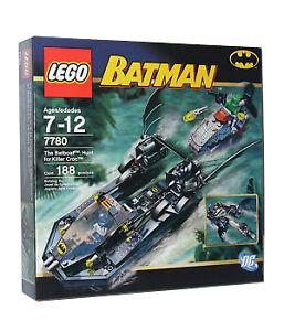 NEW Lego Batman 7780 The Batboat : Hunt for Killer Croc ...