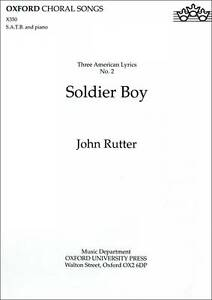 Soldier Boy by Oxford University Press (Sheet music, 1993)