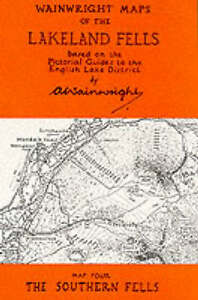 Wainwright-Maps-of-the-Lakeland-Fells-Southern-Fells-Map-4-Alfred-Wainwright