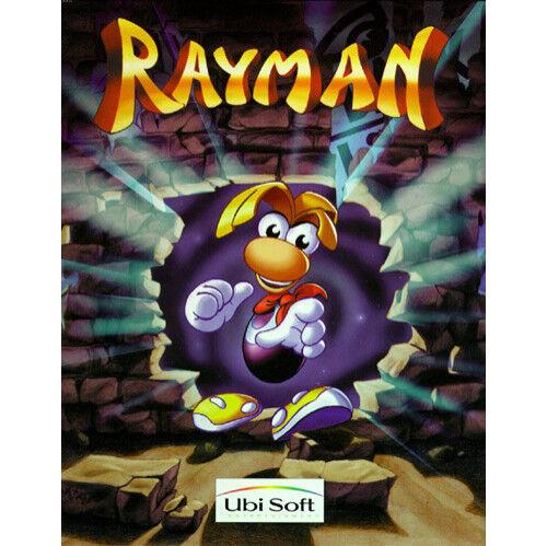 Rayman (Sony PlayStation 1, 1996) DISC ONLY RARE BLACK LABEL ORIGINAL