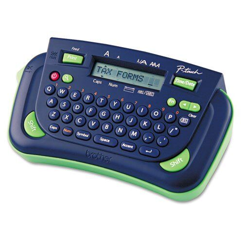 how to change the font on ap touch label maker