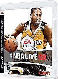 NBA Live 2008 PS3 New Playstation 3 Basketball Game