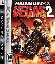 Tom Clancy's Rainbow Six: Vegas 2 (Sony PlayStation 3, 2008) -Complete