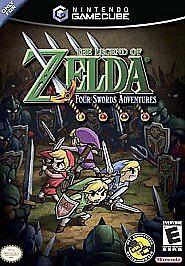 legend of zelda four swords adventures nintendo gamecube 2004 ebay