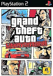 Grand Theft Auto: Liberty City Stories (PlayStation 2, 2006) **FACTORY SEALED***