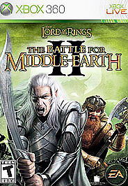Lord of the Rings: The Battle for Middle-earth II (Microsoft Xbox 360, 2006) CIB