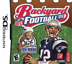 Backyard Football Video Game backyard football '09 (nintendo ds, 2008) | ebay