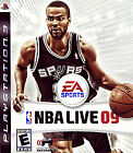 NBA Live 09  (Sony Playstation 3, 2008) (2008)