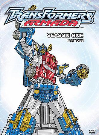 Transformers Armada: Season 1 Part 1 (DVD, 2004, 4-Disc Set)