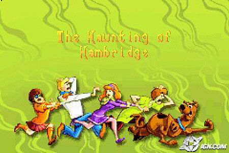Scooby Doo Mystery Mayhem Nintendo Game Boy Advance, 2003