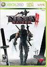 Ninja Gaiden Microsoft Xbox 360 Video Games with Manual