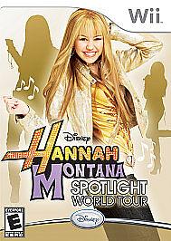 Hannah Montana: Spotlight World Tour (Nintendo Wii, 2007)G