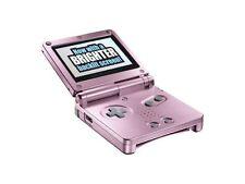 Consoles de jeux vidéo roses Game Boy Advance SP