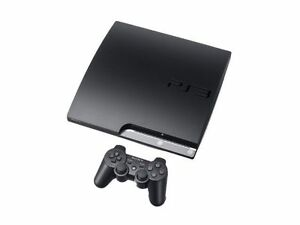 Sony PlayStation 3 Slim Launch Edition 160GB Charcoal Black 90$ is negotiable